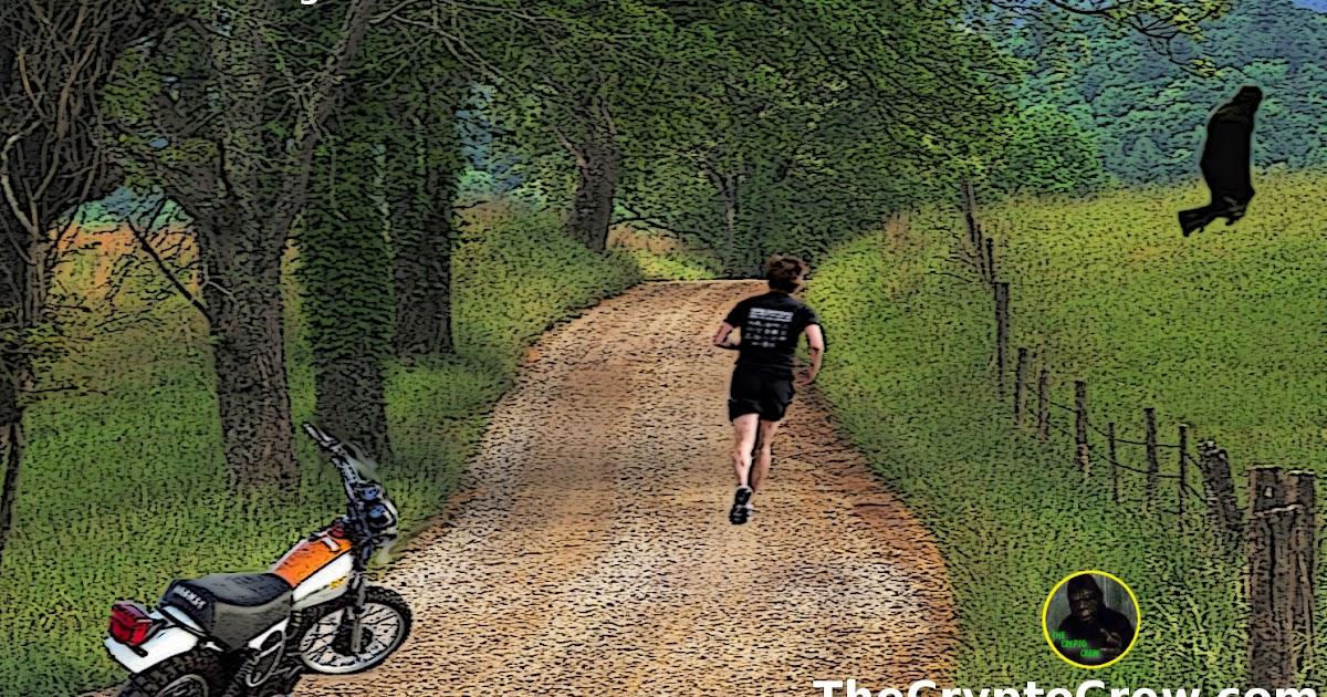 Bigfoot Runs Across Di...