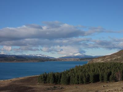 Lago Tekapo, en Nueva Zelanda