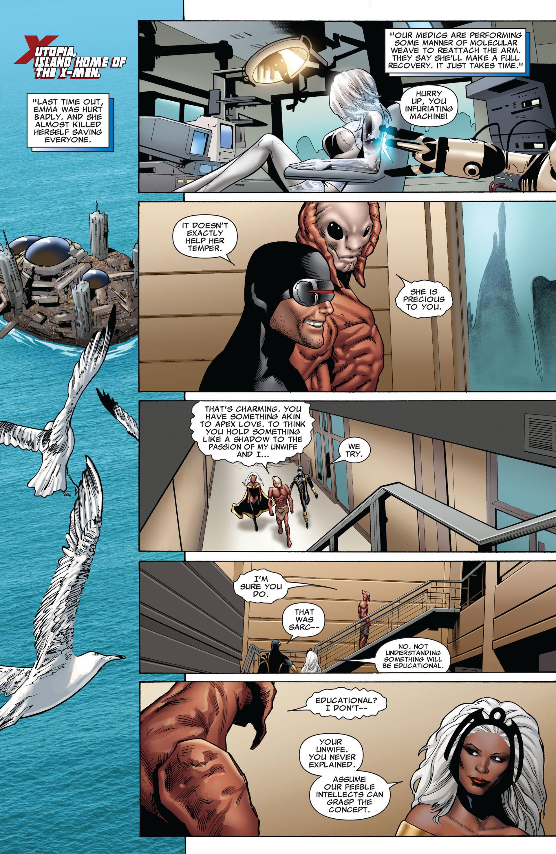 Read online Uncanny X-Men (2012) comic -  Issue #8 - 19