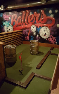Crazy Mini Golf at Roxy Ball Room in Leeds