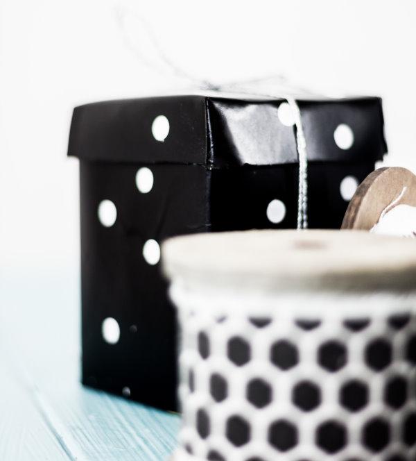 Geschenkverpackung selber machen aus alten Tetrapacks