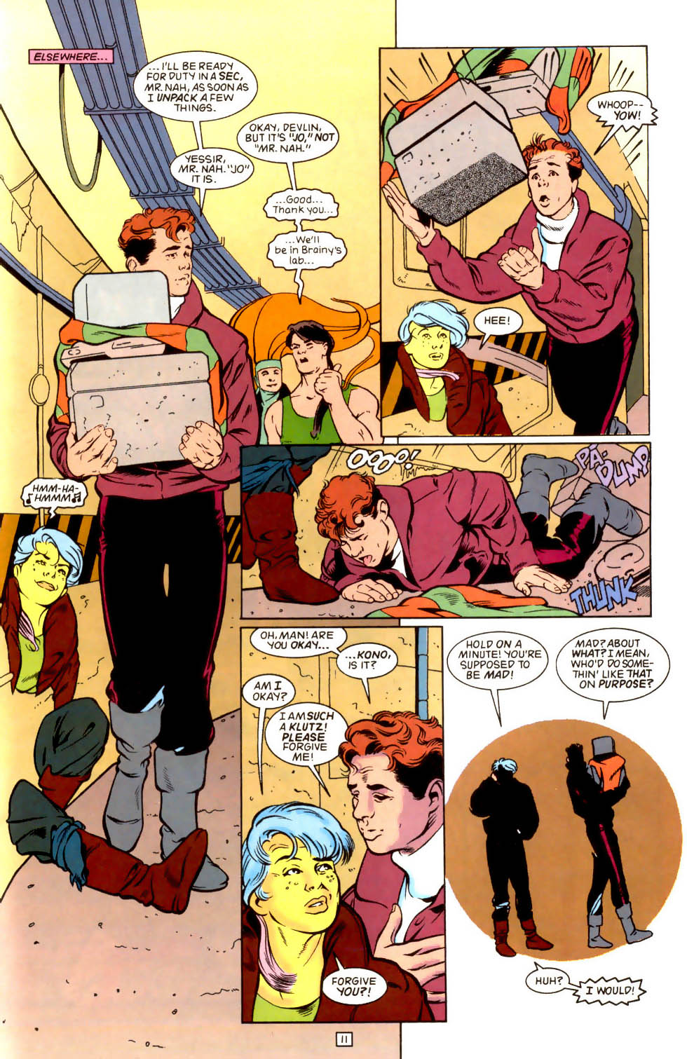 Legion of Super-Heroes (1989) 43 Page 11