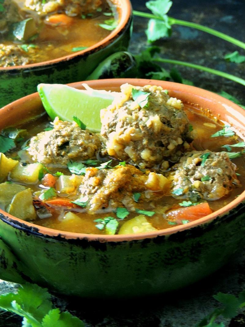 Albondigas (Mexican Meatball) Soup from www.bobbiskozykitchen