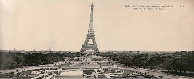 Torre Eiffel, Francia, 1925
