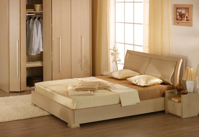 Contoh  Interior Kamar Tidur Minimalis Modern