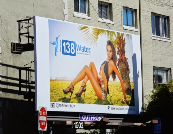138 Water Elizabeth Chevalier swimsuit billboard