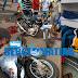 Motocicletas batem de frente e condutores ficam feridos, em Bacabal
