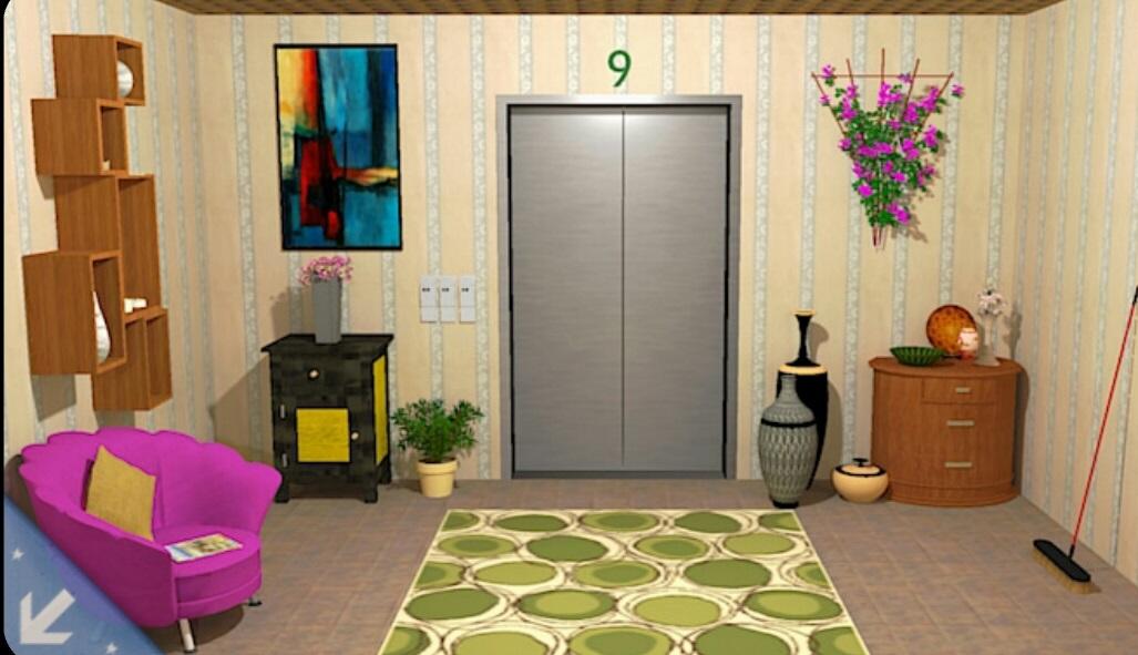 Escape From Green Floor Room Walkthrough