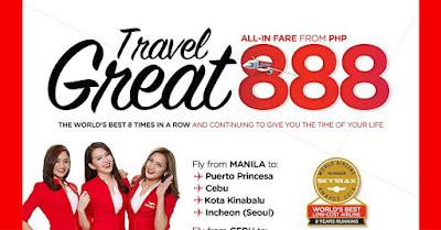 AirAsia 888 Sale