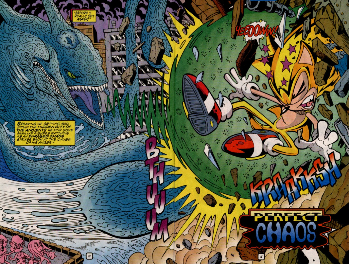 Read online Sonic The Hedgehog comic -  Issue #84 - 5
