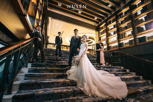 桂田酒店圖書館婚攝