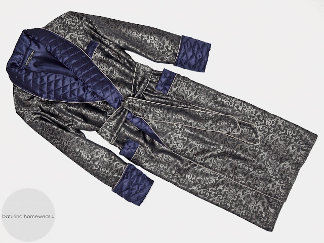 mens paisley silk dressing gown victorian quilted smoking jacket robe for men long big tall