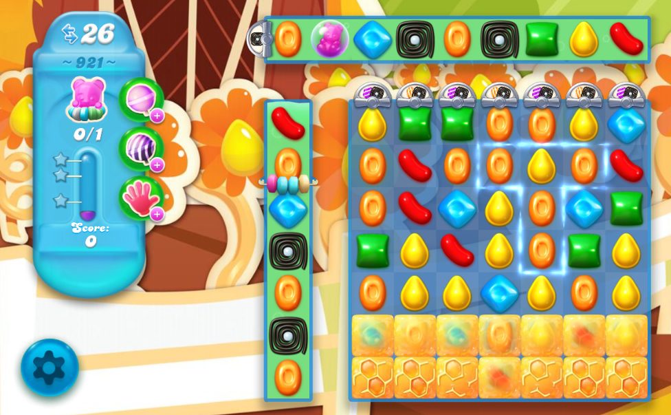 Candy Crush Soda Saga 921