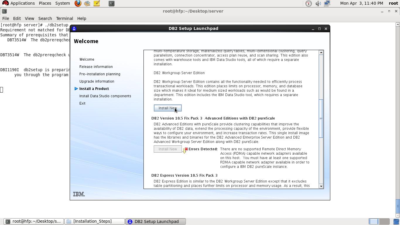 Step by Step installation of DB2 V10 5 on Linux ~ Vinay's DB2 blog