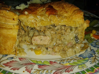 Inside the Higgidy Turkey Pie Review