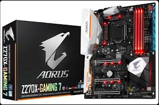 Spesifikasi Motherboard Gigabyte Aorus Z270X-Gaming 7
