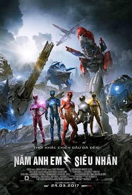 Xem Phim 5 Anh Em Siêu Nhân - Power Rangers