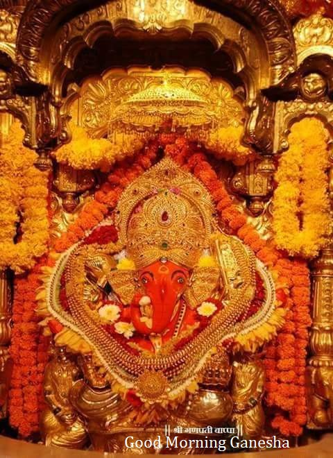 Morning with Ganesha