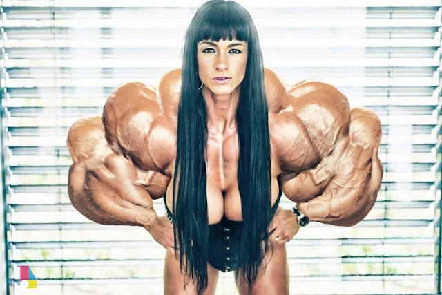 Cindy Landolt muscle morph