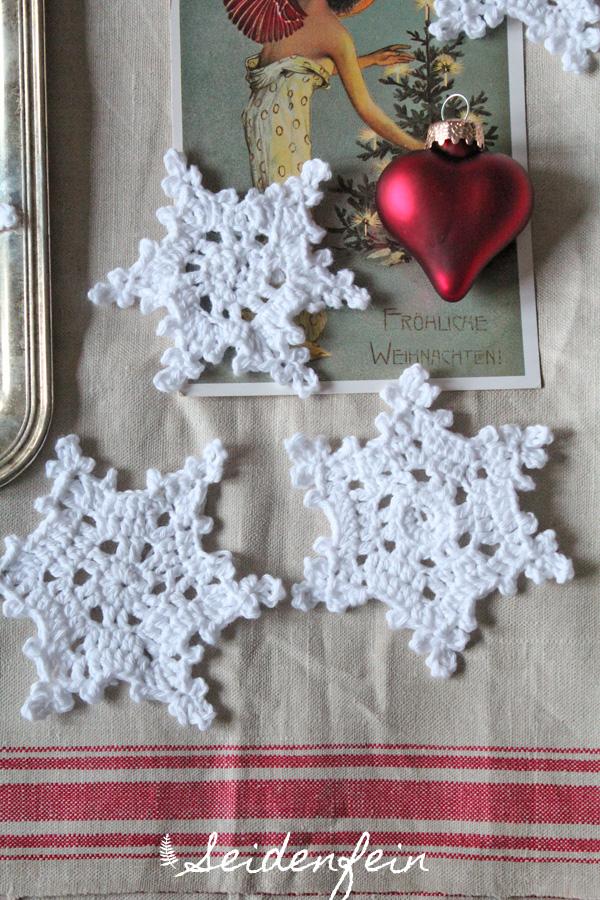Seidenfeins Blog Vom Schönen Landleben 2 Dez Schneeflocken Mit