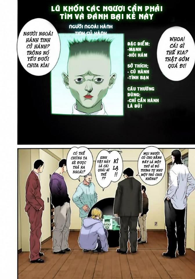 Gantz Chap 04: Mệnh lệnh của quả cầu đen trang 8