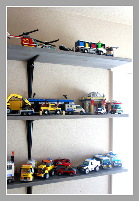 Crafty Sisters Lego Shelves