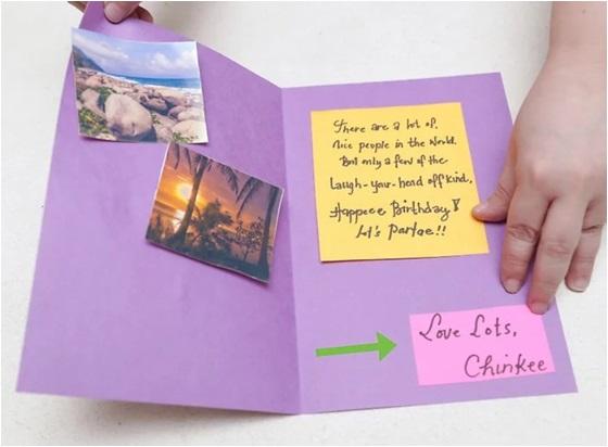 adım adım doğum günü kartı yapımı