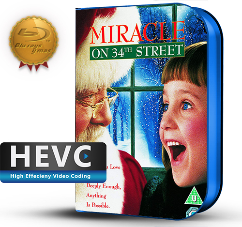 Miracle on 34th Street (1994) 1080P HEVC-8Bits BDRip Latino/Ingles(Subt.Esp)(Familiar, Comedia)