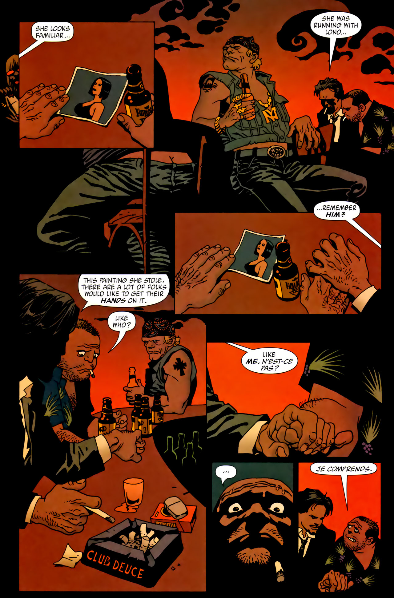 Read online 100 Bullets comic -  Issue #62 - 17