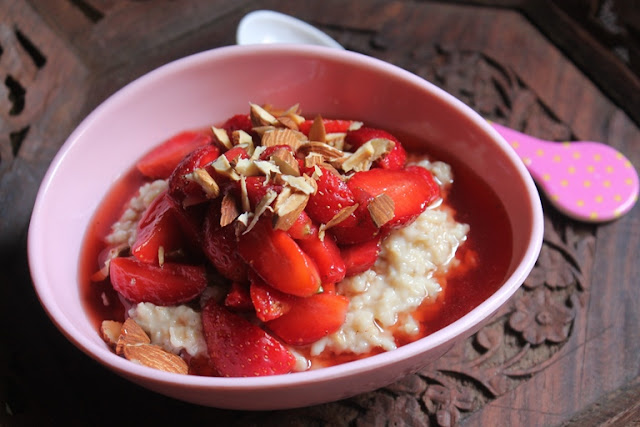Breakfast Strawberry Oatmeal Recipe