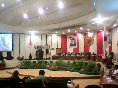 Paripurna Penyampaian Rekomendasi LKPJ Gubernur Sulut dipimpin Andrew Anggouw
