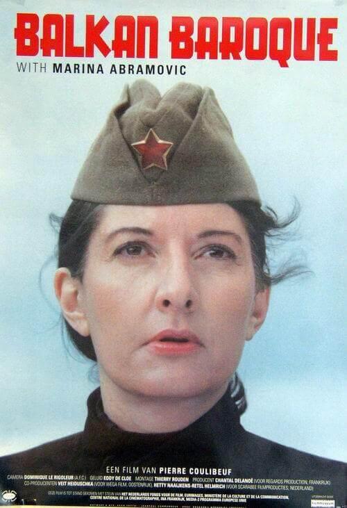 Balkan Baroque Marina Abramović moarte repetitie tragedie doliu
