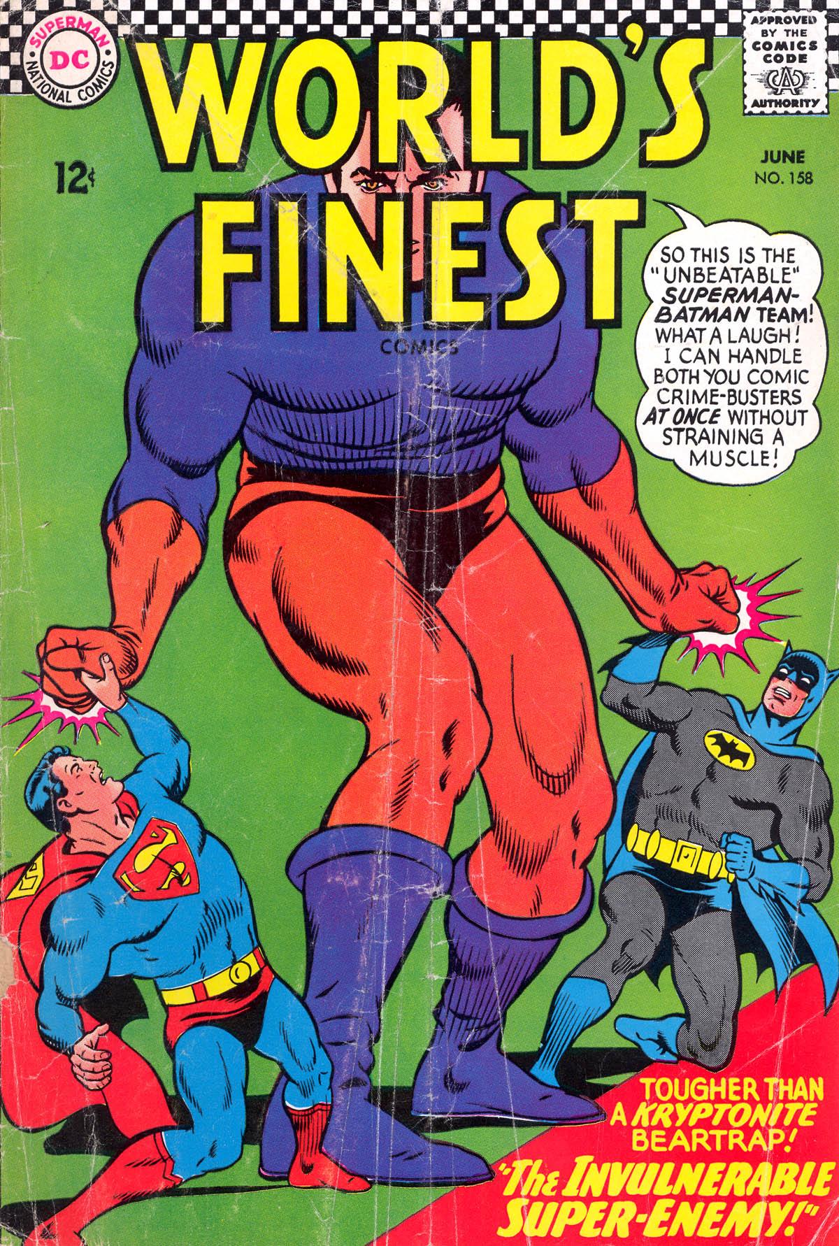 Read online World's Finest Comics comic -  Issue #158 - 1