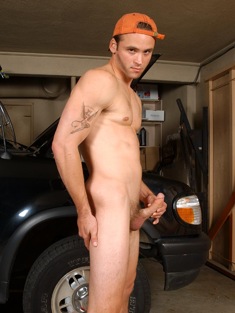 young nude european guy