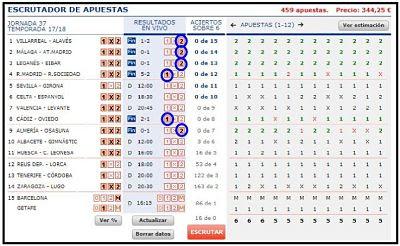1X2 QUINIELAS REDUCIDAS