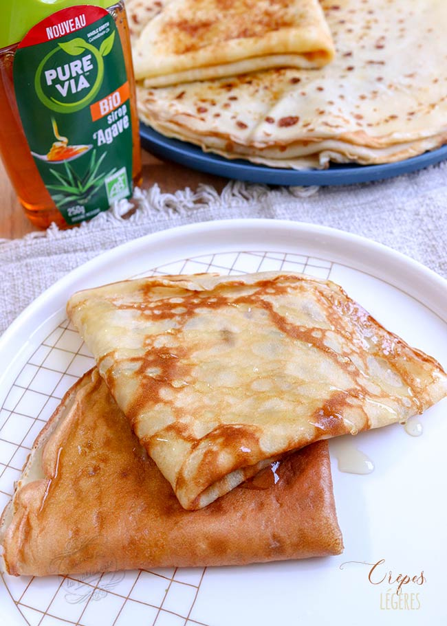crepes faibles calories