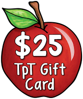 Learn how to claim your teacher appreciation gifts from Laura Candler and how to enter a giveaway for one of two $25 TpT gift cards!