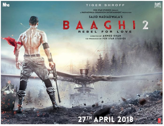 full cast and crew of bollywood movie Baaghi 2 2018 wiki, Tiger Shroff story, release date, Actress name poster, trailer, Photos, Wallapper