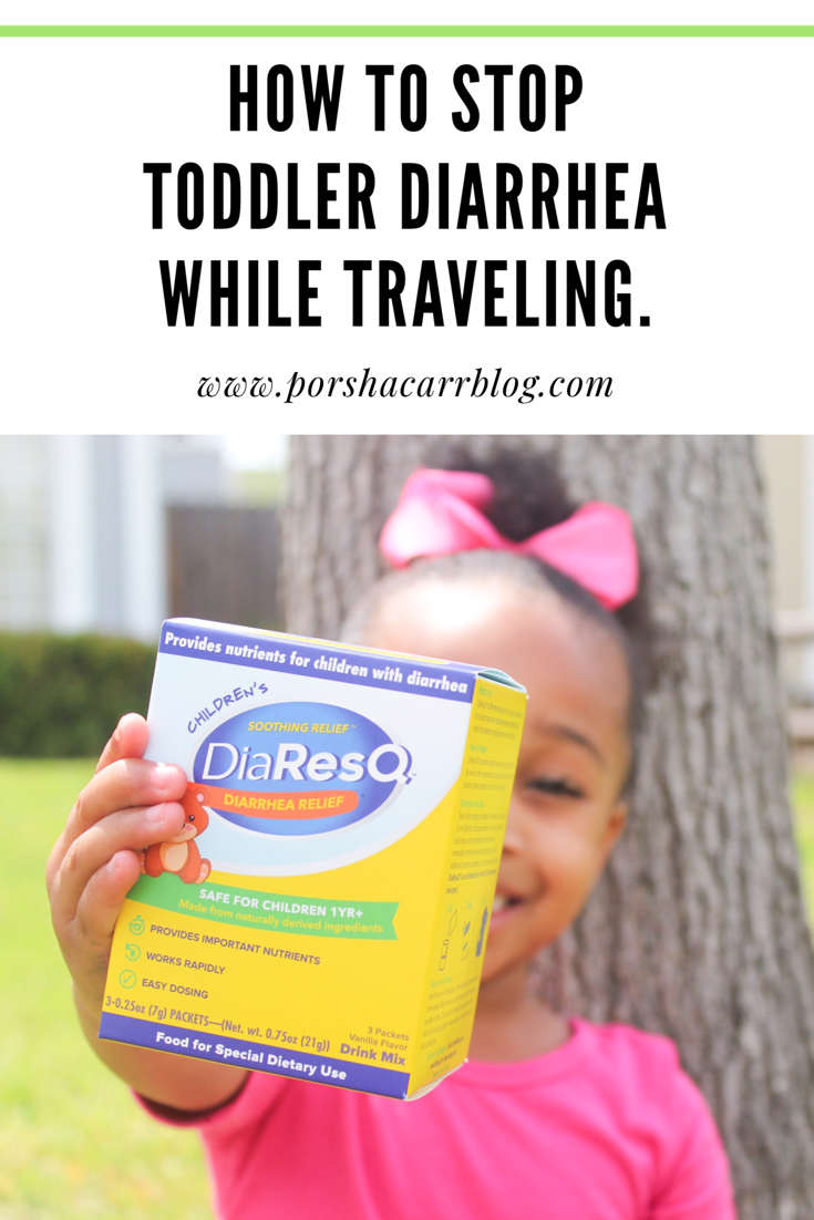 How to stop toddlers diarrhea while traveling (featuring