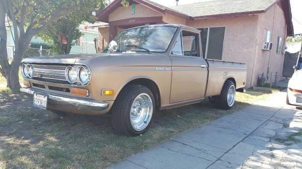 1971 Datsun Mini-Truck with Rotary Engine Swap - Keep Cars Weird