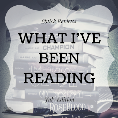 Quick Reviews on Reading List:  July Edition