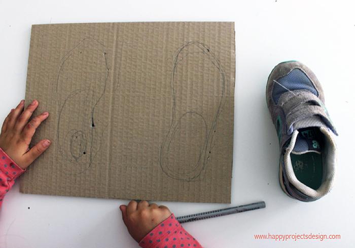DIY para aprender a atarse los cordones