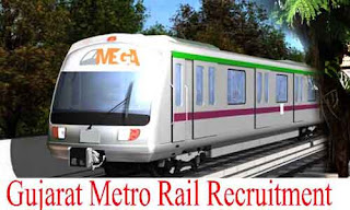Gujarat Metro Rail Corporation (GMRC) Limited Recruitment 2019 / Various Posts: