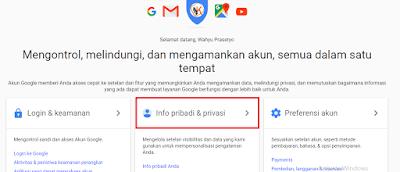Cara Ganti Nomor Email Google