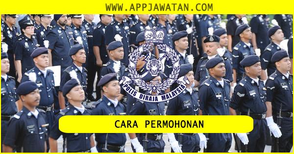 Cara Memohon Jawatan Sebagai Anggota Polis PDRM