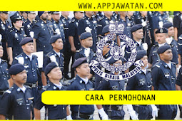 Cara-cara  Memohon Jawatan Sebagai Anggota Polis PDRM - Konstabel,Sarjan,Inspektor - Terbuka 2019