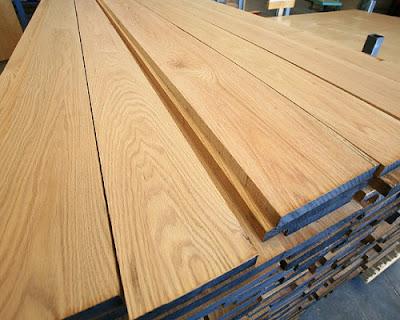 Sàn gỗ tự nhiên sồi trắng mang gam màu hiện đại
