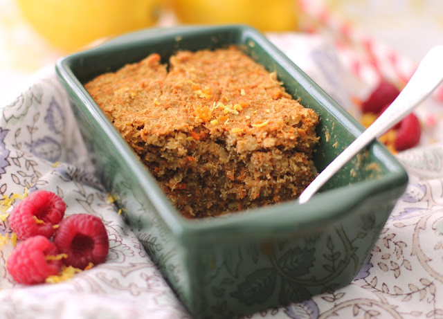 Low Calorie Loaf Cake Recipes: Healthy Carrot Cake Quinoa Flake Protein Loaf (Gluten Free