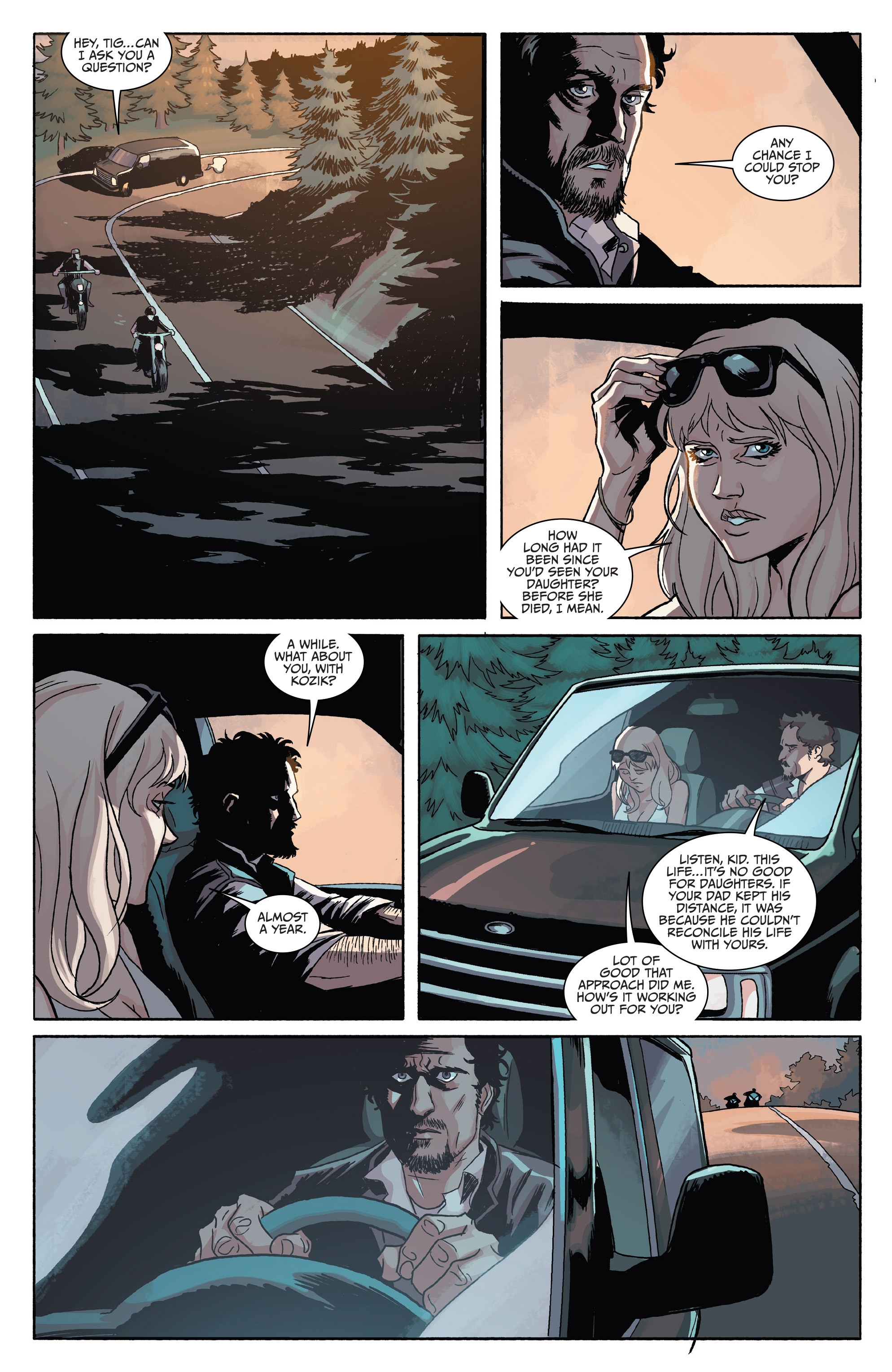 Read online Sons of Anarchy comic -  Issue #4 - 22