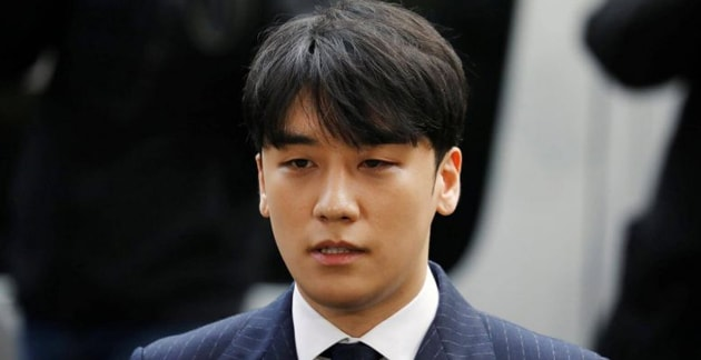 Oficial de policía de alto rango fue inocente de recibir sobornos de Seungri